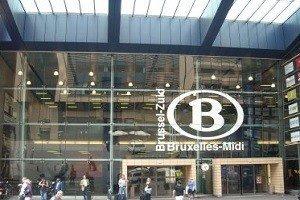 Estación Tren Eurostar Bruselas