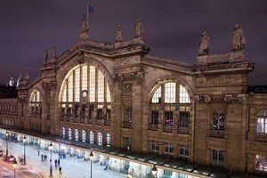 Estación Tren Eurostar París