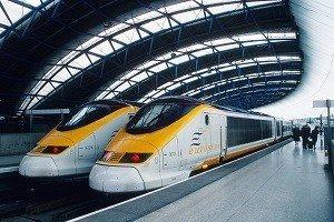 Estaciones del Tren Eurostar