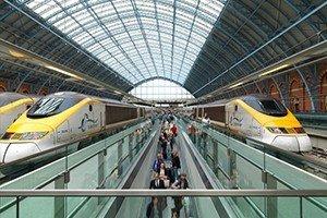 Servicios estacionales del Tren Eurostar
